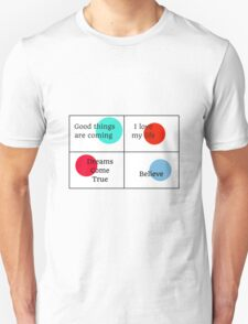 Positive Affirmations collage T-Shirt