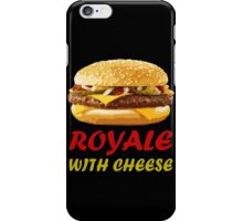 Royale With Cheese Pulp Fiction iPhone Case/Skin
