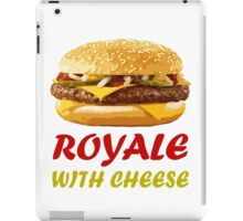 Royale With Cheese Pulp Fiction iPad Case/Skin