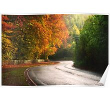 On the Road to Winter Poster
