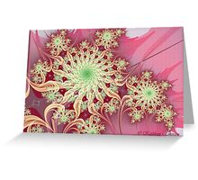 Pink Remembrances (Think Pink) Greeting Card