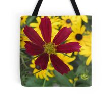 Flower Clutch Tote Bag