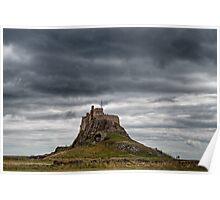 Lindisfarne Castle, Northumberland, UK Poster