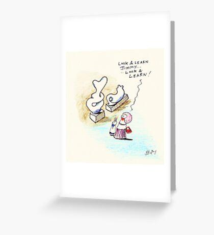 Look & Learn Greeting Card