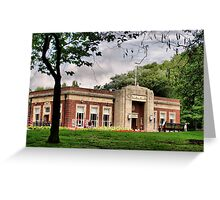 The Park Cafe Greeting Card