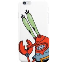 Robo Krabs iPhone Case/Skin