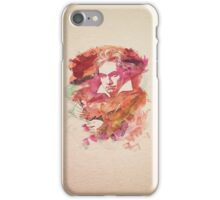 Ludwig van Beethoven Watercolor Remix  iPhone Case/Skin