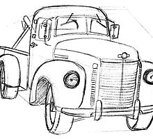Small town tow truck by OscarEA