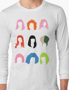 Nicki's Hair Long Sleeve T-Shirt