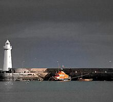 Donaghadee Lifeboat by Stephen Maxwell