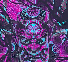 ONI MASK by -esoj-