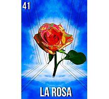 LOTERIA- LA ROSA Photographic Print