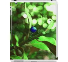 Unnatural Blue Lady iPad Case/Skin