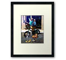 Fountain Ride Framed Print