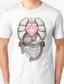 Magical Girl Anatomy Unisex T-Shirt