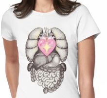 Magical Girl Anatomy Womens Fitted T-Shirt