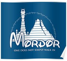 Disney Mordor Poster