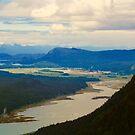 Mount Thomas View, Juneau, Alaska by Barbara  Brown