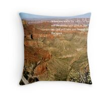 The Valley of Decision Throw Pillow