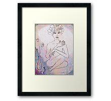 Nude. Framed Print