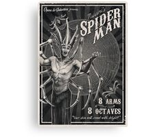 Puccini's SPIDER MAN Canvas Print