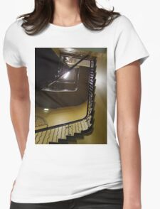 Staircase 1 Womens Fitted T-Shirt