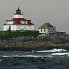 Egg Rock Lighthouse by Lori Deiter