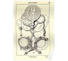 A Handbook Of Ornament With Three Hundred Plates Franz Sales Meyer 1896 0429 Metal Objects Hand Mirror Poster