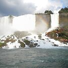 Rainbow over the Falls by zamix