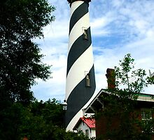 St. Augustine Lighthouse by Margaret  Shark