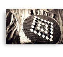 Native American Headband Canvas Print