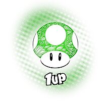 1-UP from Mario by artetbe