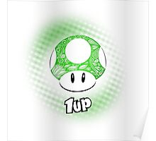 1-UP from Mario Poster