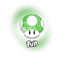 1-UP from Mario Photographic Print