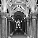 Monserrate Interior B/W by Ainsley Kellar Creations