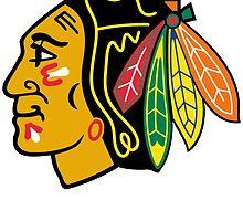 CHICAGO BLACKHAWKS by teeshirtz