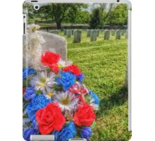 Remembering Soldiers iPad Case/Skin