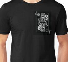 Hacker Deck: Jack of Discs Unisex T-Shirt