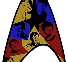 Star Trek The Original Series (Colors) by Jairo Guarin