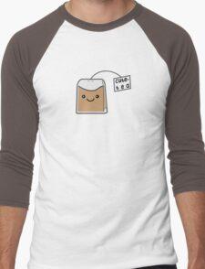 Sassy Tea Puns: Cute-Tea Men's Baseball ¾ T-Shirt