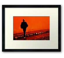 Night Encounter Framed Print