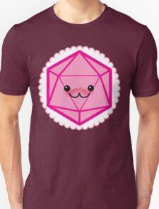 Critically Cute - D20 Kawaii Die Unisex T-Shirt