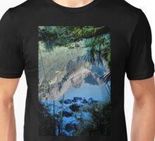 Mirror Lakes #2, New Zealand Unisex T-Shirt