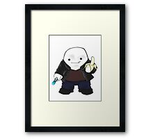 Adipose as the 9th Doctor Framed Print
