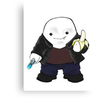 Adipose as the 9th Doctor Canvas Print