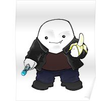 Adipose as the 9th Doctor Poster