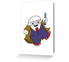 Adipose as the 10th Doctor Greeting Card