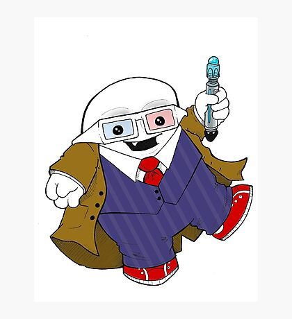 Adipose as the 10th Doctor Photographic Print
