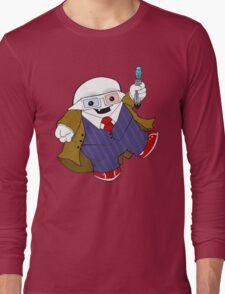 Adipose as the 10th Doctor Long Sleeve T-Shirt