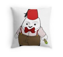 Adipose as the 11th Doctor Throw Pillow